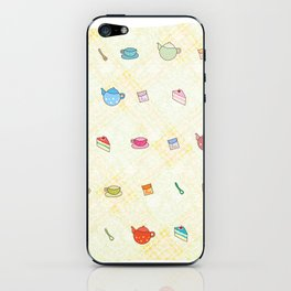 Tea time iPhone Skin