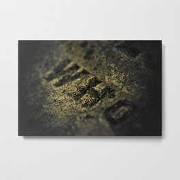 Who in Stone Metal Print