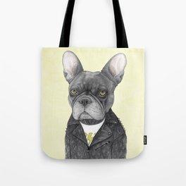 Hard Rock French Bulldog Tote Bag