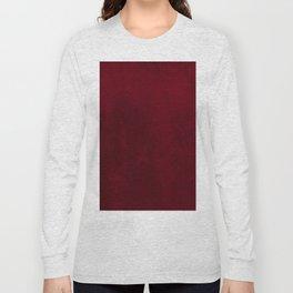VELVET DESIGN - red, dark, burgundy Long Sleeve T-shirt