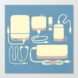 Digital Emergency Kit (Air Blue) Canvas Print