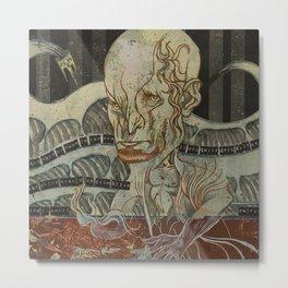 Breadcrumbs: Fisherman and His Wife Metal Print