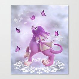 Little Dragon 2 Canvas Print