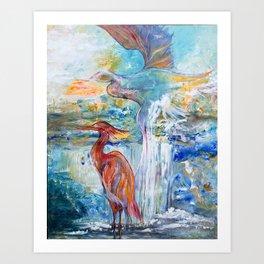 Wings of Morning Art Print