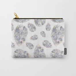 Diamond Birthstone Watercolor Illustration Carry-All Pouch