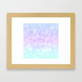 Cool Pastels Framed Art Print