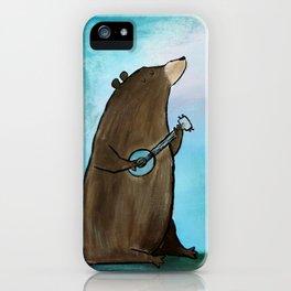 Campfire Bear iPhone Case