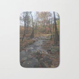 Quiet Autumn Creek Bath Mat