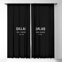 Dallas - TX, USA (Arc) Blackout Curtain