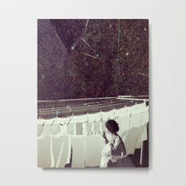 Happiness of the Housekeeper.. Metal Print