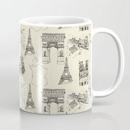 France vintage Coffee Mug