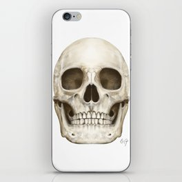 Digital Skull Painting iPhone Skin