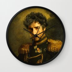 Bob Dylan - replaceface Wall Clock