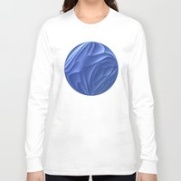 dune Long Sleeve T-shirts featuring Blue Dune by Lyle Hatch