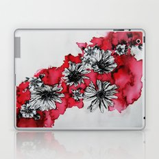 Red Flowers Laptop & iPad Skin
