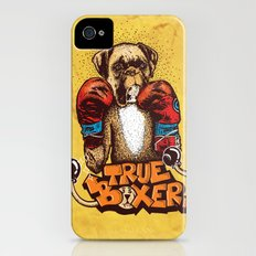 true boxer iPhone (4, 4s) Slim Case