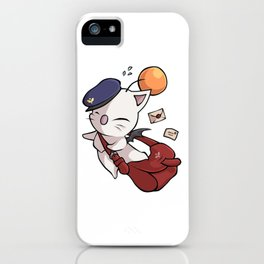 Delivery Moogle - Final Fantasy iPhone Case