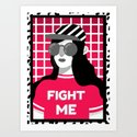 Fight me! by maiafaddoul