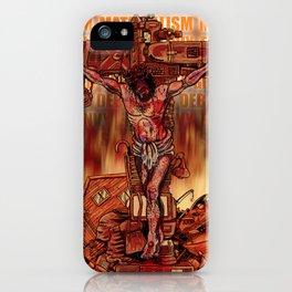 Material Jesus iPhone Case