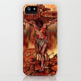 Material Jesus iPhone Case