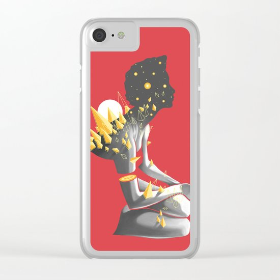 Somber Clear iPhone Case