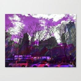 Bryant Purple Canvas Print