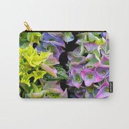 Green purple hydrangea Carry-All Pouch