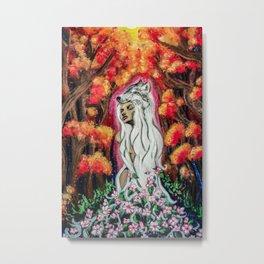 Powerful Blossom Metal Print