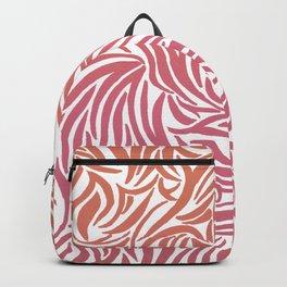 Sunset Zebra print Backpack