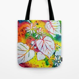 Leaves on the World Tree: Czechs Lípa ( Linden or Lime ) Tote Bag