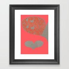 Hearts & Mind Framed Art Print