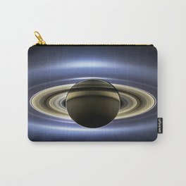 The Planet Saturn passing in front of the Sun Carry-All Pouch
