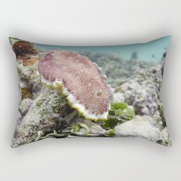 Red Nudibranch Rectangular Pillow