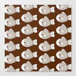 Fish Cake Canvas Print