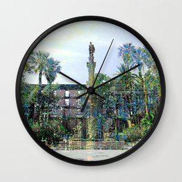 Saturday 22 June 2013: Concession construction serving also as promotion. Wall Clock