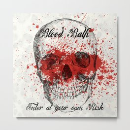 Bloodbath Metal Print