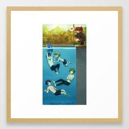 IWATOBI SWIM CLUB Framed Art Print