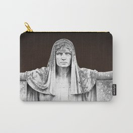 The destiny goddess  - Art deco statue of woman with peplum Carry-All Pouch