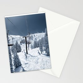 Mammoth Mountain: Chair 12 Stationery Cards