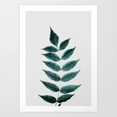 Leaves 3A Art Print