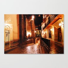 Red night Canvas Print
