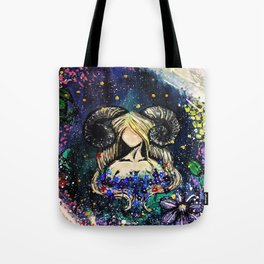 Faceless Aries Tote Bag
