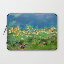 Autumn leaves on water 5 Laptop Sleeve