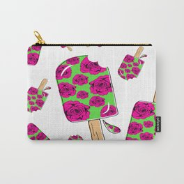 Rose Popsicle Carry-All Pouch