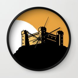The  Ancient  Castle  of  Dusk  Heights Wall Clock