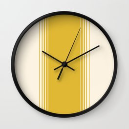 Marigold & Crème Vertical Gradient Wall Clock
