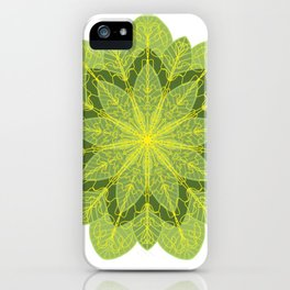 Heart Chakra Mandala iPhone Case