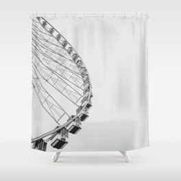 High Mood Shower Curtain
