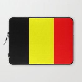 belgium country flag Laptop Sleeve