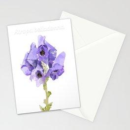Atropa belladonna Stationery Cards